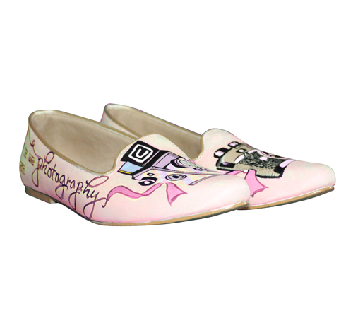 loafer flats_photography edition_pink_side