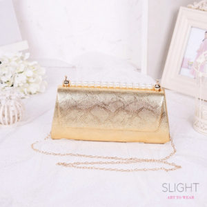 Clutch Isabelia Bright Gold
