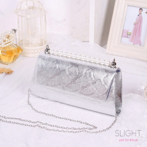 Clutch Isabelia Silver