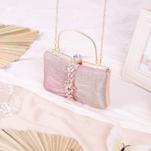 Clutch Evelyn Pink