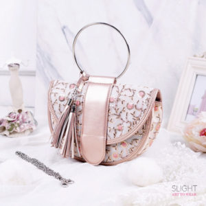 Clutch Crescent Rosegold