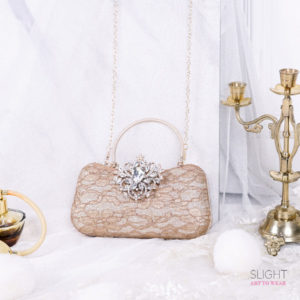 Clutch Scarlett Gold