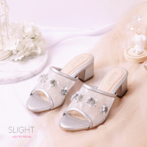 Mules Clementine Silver
