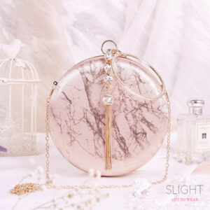 Clutch Marble Rosegold