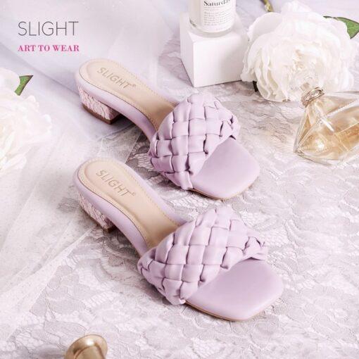 Sandal Selop Kalila Ungu Lilac